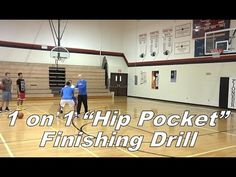 """1 on 1 """"Hip Pocket"""" Finishing Drill with Jim Huber - YouTube"""