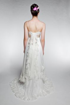 A thing of beauty is a joy forever - wedding dress. $680.00, via Etsy.