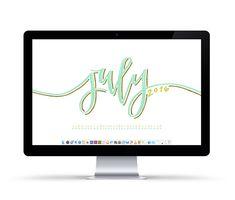 july desktop wallpaper dates