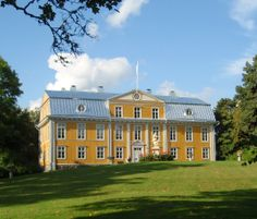 Svartå Castle, Finland Grand Homes, Palaces, Castles, Countryside, Norway, Countries, Buildings, Around The Worlds, Exterior