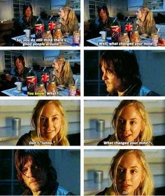 Daryl and Beth..... Not sure how I feel about them.