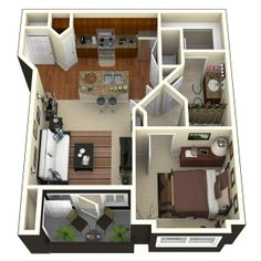 1000 images about the sims 4 on pinterest floor plans for Interior design 600 sq ft flat