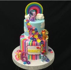 Little Pony Cake, Birthday Cake, Desserts, Food, Home, Food Cakes, Projects, Tailgate Desserts, Birthday Cakes
