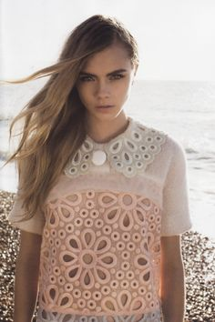 "Cara Delevingne in ""Love Out of Lust""  Lula Magazine S/S 12, photographed by Annabel Mehran"