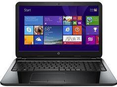 "HP 15-f009wm Laptop PC ~ AMD Dual-Core Processor E1-2100 1.0GHz, 4GB, 500GB, 15.6"", Webcam, Wireless, Windows 8.1"
