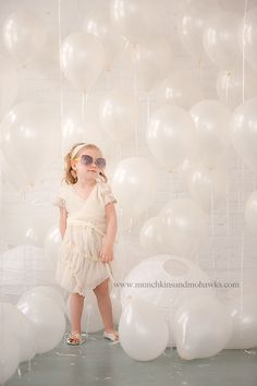 Miss Sass  Balloons and sunglasses always a perfect combo!