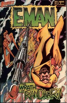 E-Man Comics (1983 First) 14 __UN__
