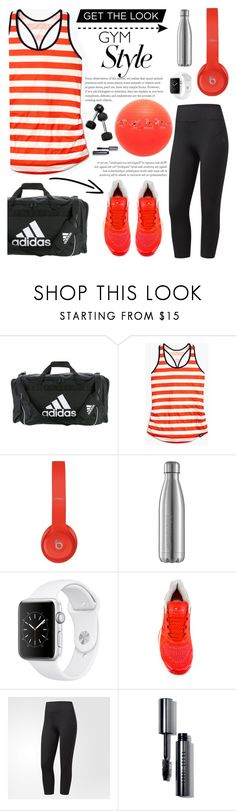 """Work It Out: Gym Essentials"" by glamorous09 ❤ liked on Polyvore featuring adidas, New Balance, Beats by Dr. Dre, Bobbi Brown Cosmetics and gymessentials"