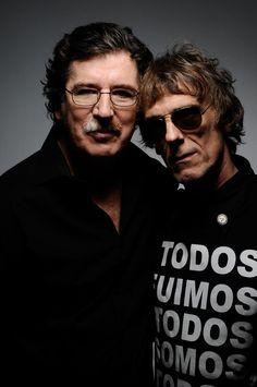 Charly García y Luis Alberto Spinetta, dos grandes