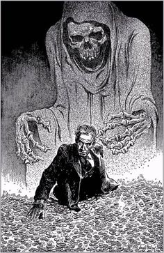 illustrations by Virgil Finlay
