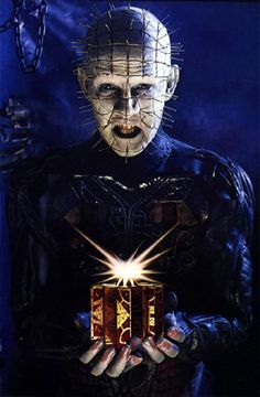"Hellraiser - ""You solved the box. We came.  Now you must come with us. Taste our pleasure. """