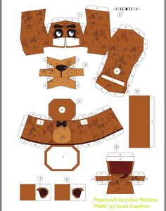five nights at freddy's papercraft - Buscar con Google