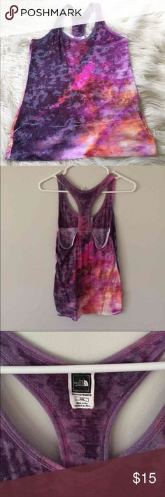 The North Face tank In good condition, shows slight wear. North Face Tops Tank Tops