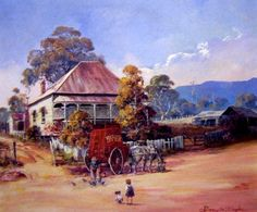 Stopped for Lunch, D'Arcy Doyle, 1932-2001, Australian