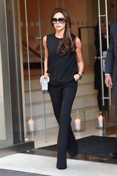 5 Casual Victoria Beckham Outfits That Actually Work in Real Life via @WhoWhatWearUK