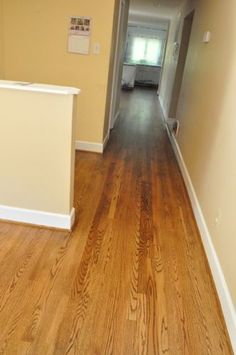 How to refinish hardwood floors- Out of the ones i've pinned so far, this is the most detailed and easiest to follow