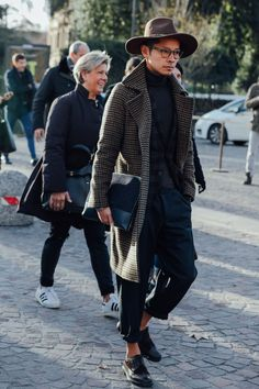 "billy-george: "" Stylish as hell! Spotted at Pitti Uomo 89 Photo by Dan Roberts """