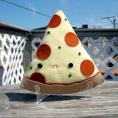 Beer & Pizza Plush by Steff Bomb
