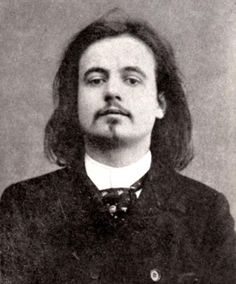 Alfred Jarry - French symbolist writer who is best known for his play Ubu Roi. He also coined the term and philosophical concept of 'pataphysics. Alfred Jarry, Erik Satie, Dangerous Minds, People Of Interest, Portraits, Jolie Photo, Classical Music, The Past, Wallpaper