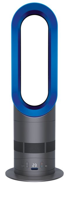 Dyson® AM05 Hot + Cool Blue  One that does it all and saves your electric bill and space. Fastest whole room heating in Winter. High velocity air to cool in summer.