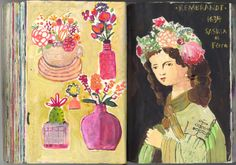 Jennifer Orkin Lewis. This girl has the sketchbook thing FIGURED OUT!