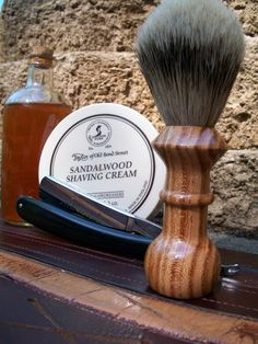 The art of shaving sells all the products I highly recommend for gentlemen who want a close and comfortable shave, and Sandalwood is the only scent you want.