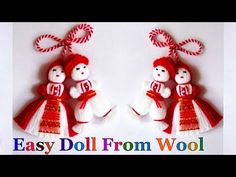 Welcome to my channel Craft loopy Genius, At this time I'll let you know methods to make Fast & Simple yarn/wool Doll step-by-step at house, that is very straightforward Yarn/Wool craft tutorial. Easy Yarn Crafts, Bird Crafts, Diy Crafts For Gifts, Flower Crafts, Handmade Crafts, Wool Dolls, Yarn Dolls, Handycraft Ideas, Woolen Flower