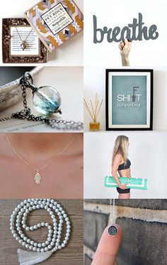 Serenity Now by Amy Hall on Etsy yoga by the sea designs mala necklace