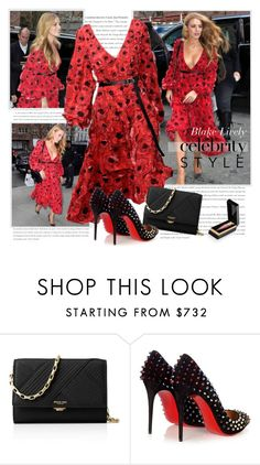 """""""Blake Lively in Michael Kors SS 2016  - Celebrity Style"""" by sella103 ❤ liked on Polyvore featuring Michael Kors and Christian Louboutin"""
