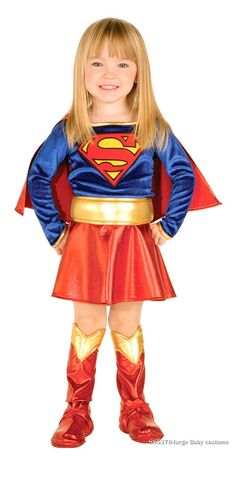 Image detail for -Toddler Supergirl Costume [Supergirl Costumes] - : Costume Craft Shop