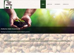 Webbering created a website for the Alabama Seed Association located in Montgomery, Alabama. Official website for the Alabama Seed Association whose purpose is to promote and protect the interest of the seed trade in Alabama. Group Action, Montgomery Alabama, Trade Association, Design Development, Purpose, Promotion, Website