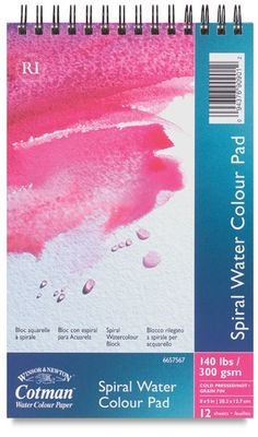 Watercolor Pad twelve 12x16 sheets for $11.25