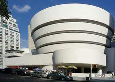 Guggenheim Museum NY / 1943-59 / Frank Lloyd Wright
