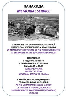 Memorial Service Chernobyl