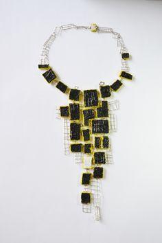 Collar Contemporary, Jewelry, Jewlery, Jewerly, Schmuck, Jewels, Jewelery, Fine Jewelry, Jewel
