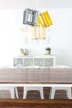 DIY Arts &  Crafts : DIY Recycled Cardboard Pendant Lights