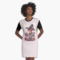I Dress, Shirt Dress, Inktober, Chiffon Tops, Magic, Printed, Awesome, Dresses, Products