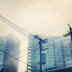 "Audifax 5"" x 5"" photograph - Urban Fog"