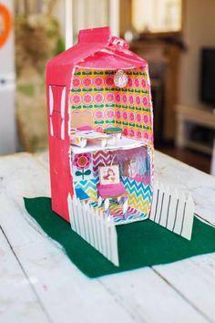 Kids crafts with Ali Coghlan: milk carton doll's house Projects For Kids, Crafts For Kids, Milk Carton Crafts, Build A Better World, Worlds Of Fun, Toddler Activities, Sculpture Art, Teaching Ideas, Ali