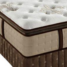Stearns & Foster Estate East Cape Luxury Plush Euro Pillowtop King Mattress…