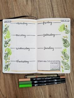 Easy Bullet Journal, How to Make a Creative Way to Realize Organized Life – s. saile Easy Bullet Journal, How to Make a Creative Way to Realize Organized Life – Save Images Easy Bullet Journal, How Bullet Journal Page, Bullet Journal Notebook, Bullet Journal School, Bullet Journal Inspo, Journal Pages, Bullet Journal Weekly Spread Layout, Autumn Bullet Journal, Daily Journal, Nature Journal