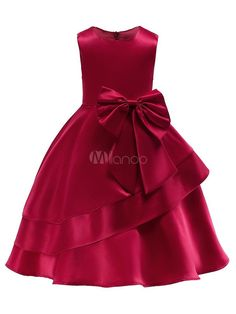 Flower Girl Dresses Kids Bows A Line Knee Length Wedding Party Dress Source by misslamolly kids girl African Dresses For Kids, Gowns For Girls, Frocks For Girls, Latest African Fashion Dresses, Girls Party Dress, Little Girl Dresses, Flower Girl Dresses, Dress Girl, Wedding Dresses For Kids