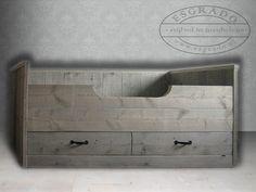 bedbank van steigerhout