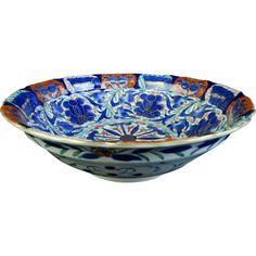 Japanese Vintage Arita -yaki Porcelain Kashiki Bowl by Kikusaburo -gama from the Many Faces of Japan on Ruby Lane @meredith2504
