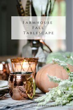 Farmhouse Fall Table