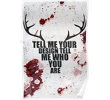 Tell Me Your Design - Hannibal typography  Poster