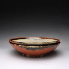 handmade ceramic serving bowls pottery dish by rmoralespottery