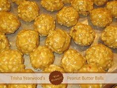 "Trisha Yearwood's ""Miss Mickey's"" Peanut Butter Balls"
