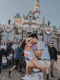 disney with my boy Same Love, Man In Love, Tumblr Gay, I Hate My Life, Men Kissing, Cute Gay Couples, Happy Together, Zachary Quinto, Couple Goals