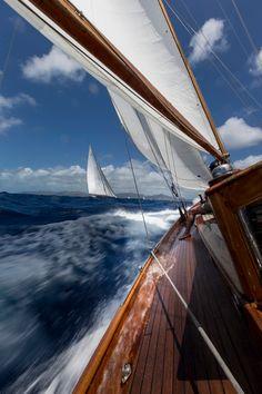 2014 Antigua Classic Yacht Regatta #racing